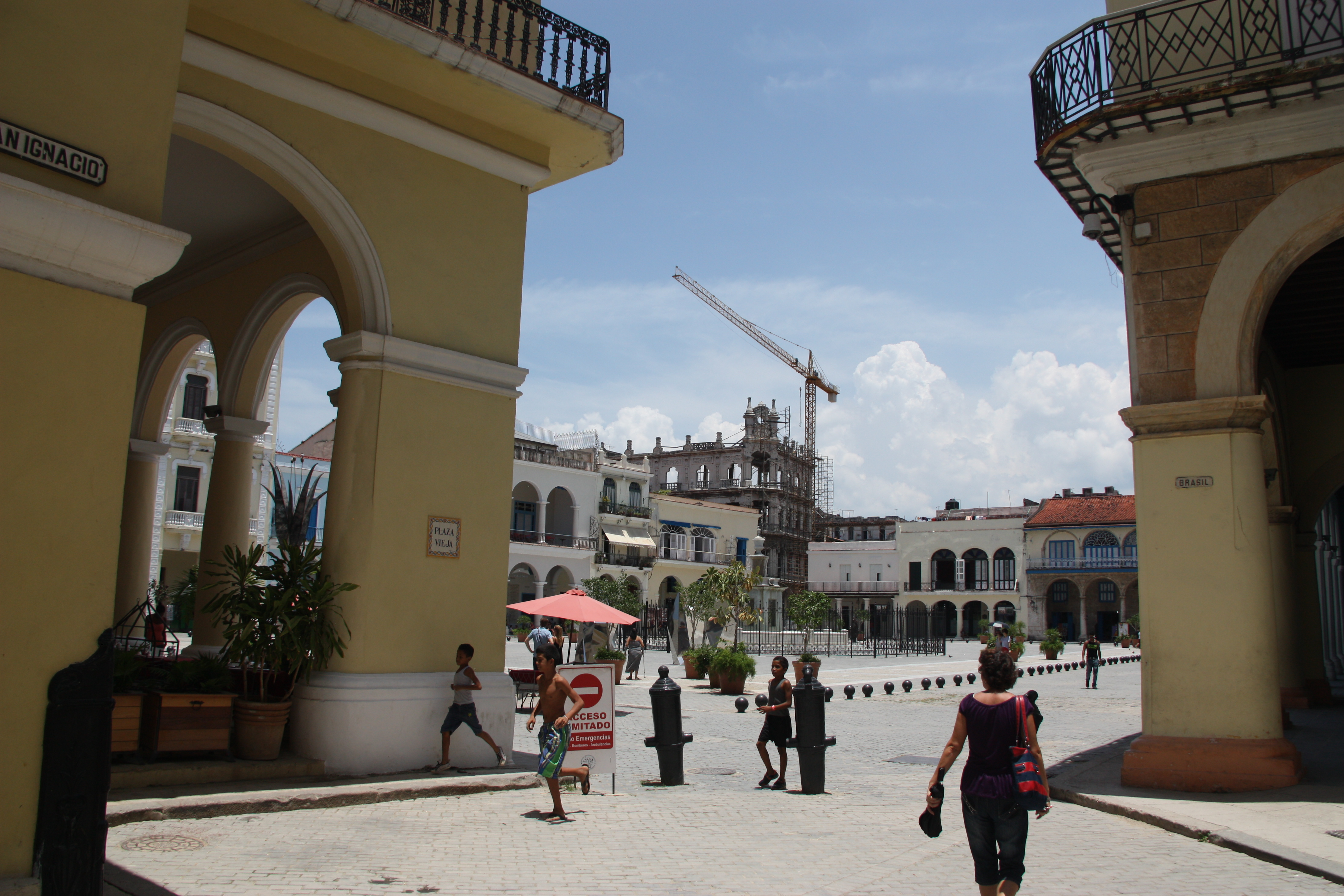 Plaza Vieja from the north