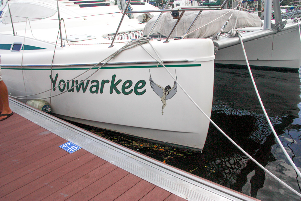 I don't think Leah will let me get this decal for our boat.