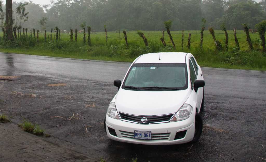 Our sweet ride a Nissan Tiida