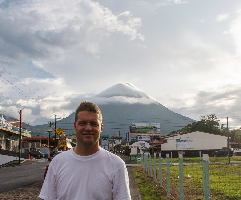 """Harry, I've reached the top!"" (Home Alone)  Arenal Volcano"