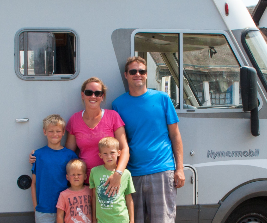 The Winkels and their Hymermobil!