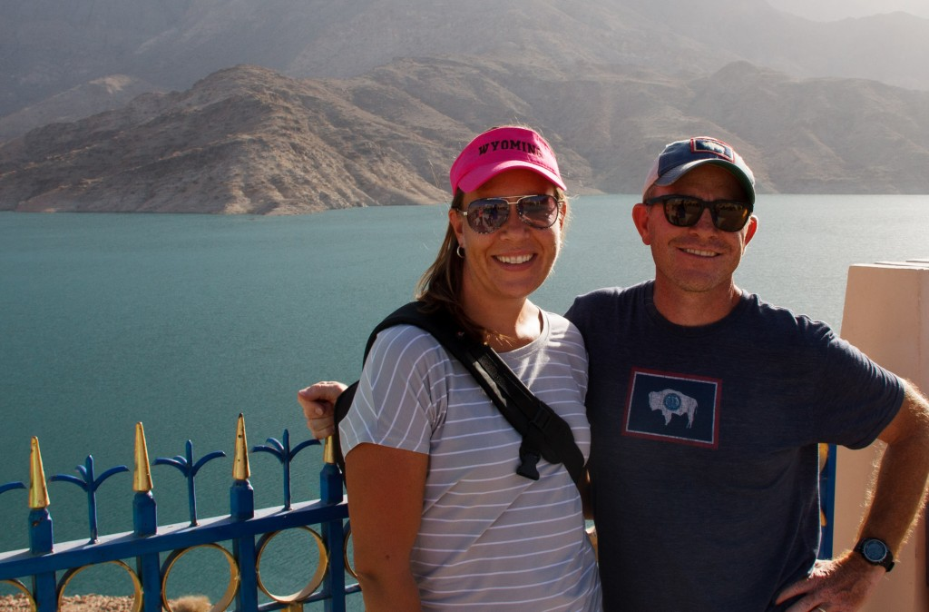 Our good friends, Mike and Jennifer Anderson.