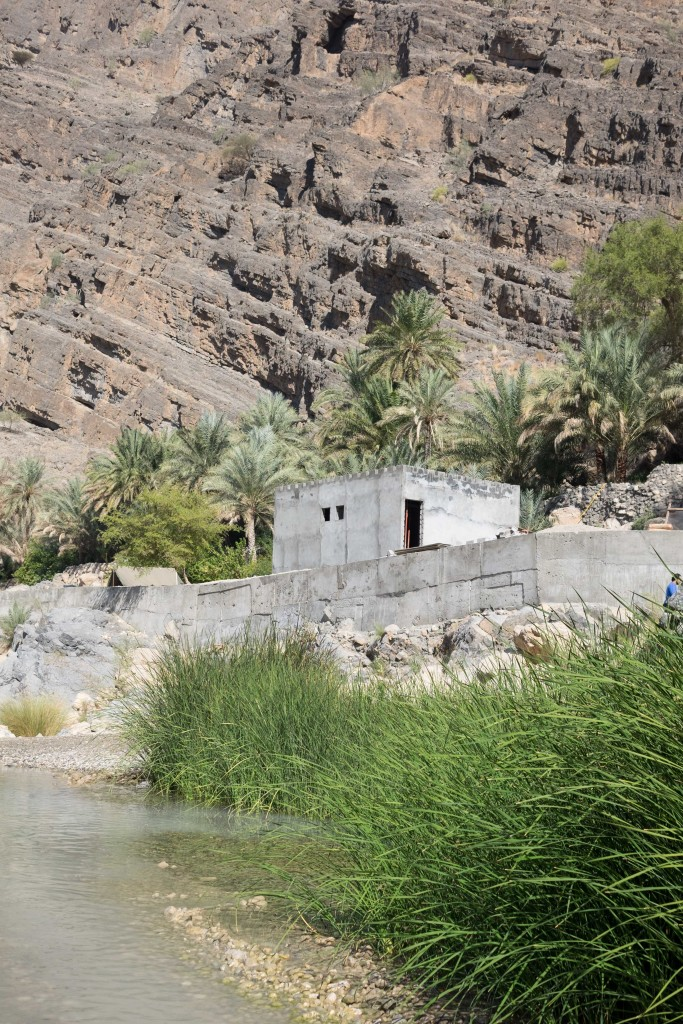 New home construction at the Wadi.
