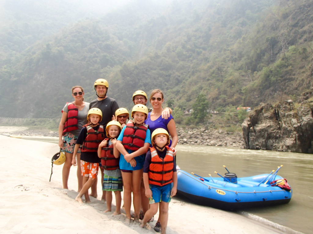 The Ankels do white water rafting!