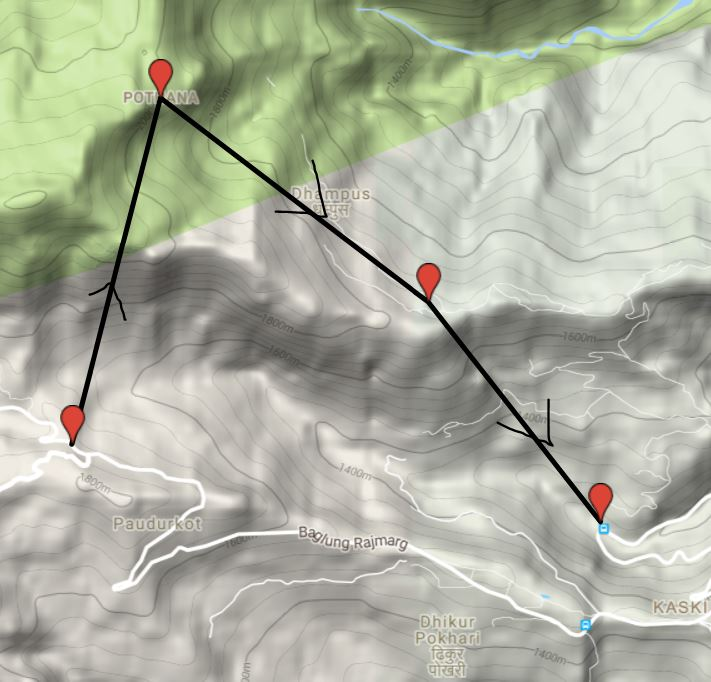 hiking route2