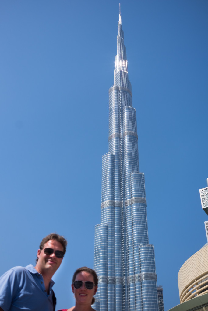 The tallest building in the world.